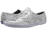 Keds Champion Sequin Silver Women's Lace Up Casual Shoes