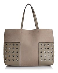 Tory Burch Block T Grommet Tote French Gray