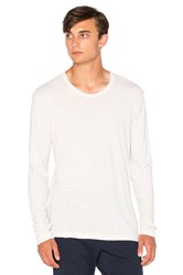 Cotton Citizen The Lennon Long Sleeve Tee White