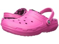 Crocs Classic Lined Pattern Clog Candy Pink Berry Clog Shoes