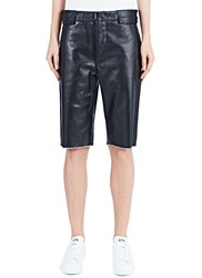 Haal Diana Long Leather Shorts