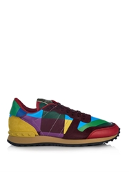 Valentino 1973 Rainbow Low Top Trainers