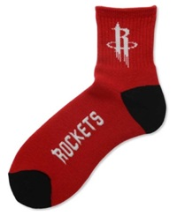 For Bare Feet Houston Rockets Ankle Team Color 501 Socks