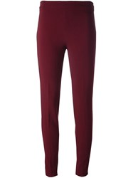 Giambattista Valli Skinny Trousers Red