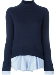 Dondup Layered Jumper Blue
