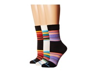 Fits Ultra Light Casual National Park Crew 3 Pack Vintage Stripe Yellowstone Vintage Stripe Great Smoky Mountains Women's Crew Cut Socks Shoes Multi