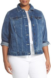 Plus Size Women's Two By Vince Camuto Denim Jacket