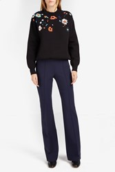 Victoria Beckham Women S Flared Spongy Trousers Boutique1 Navy