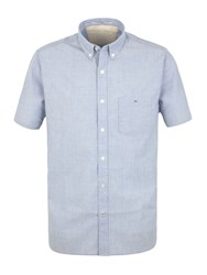 Racing Green Saltaire Short Sleeve Shirt Blue
