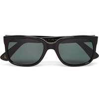 Kingsman Cutler And Gross Square Frame Acetate Sunglasses Black