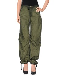 Rogan Trousers Casual Trousers Women Military Green