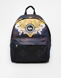 Hype Fish Snake Backpack Black