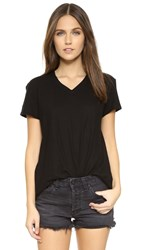 Wilt V Neck Baby Tee Black