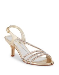 Caparros Bethany Studded Sandals Gold