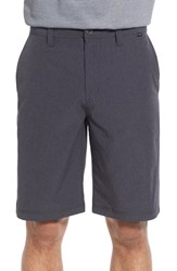 Men's Travis Mathew 'Palladium' Performance Stretch Heathered Golf Shorts Heather Black