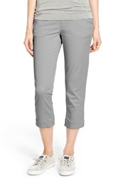 Women's Jag Jeans 'Marion' Colored Pull On Stretch Twill Crop Pants