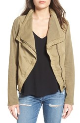 Thread And Supply Women's Cotton Twill Moto Jacket