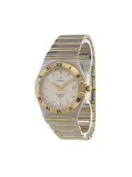 Omega 'Constellation Perpetual Calendar' Analog Watch Stainless Steel