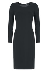 Piazza Sempione Wool Dress Blue