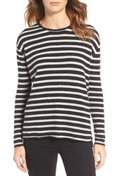 Velvet By Graham And Spencer Women's Stripe Sweater