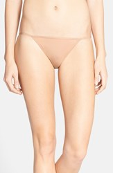 Women's Calvin Klein 'Sleek' String Bikini 3 For 30