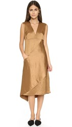 Zero Maria Cornejo Kyli Dress Bronze