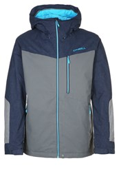 O'neill Pm Cue Snowboard Jacket Castle Rock Grey