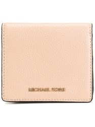 Michael Michael Kors Mini Flap Wallet Nude Neutrals