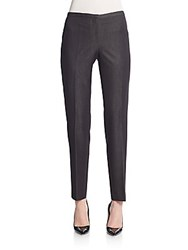 T Tahari Dessa Straight Leg Pants Black