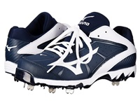 Mizuno 9 Spike Swift 4 Navy White Women's Cleated Shoes Blue