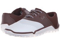 Vivobarefoot Linx Chocolate White Men's Golf Shoes Brown