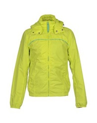 Tommy Hilfiger Denim Jackets Acid Green
