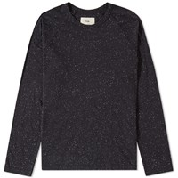 Folk Long Sleeve Nep Tee Grey