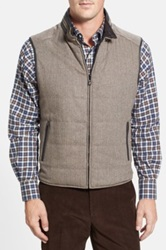 Corneliani Quilted Wool And Cashmere Vest