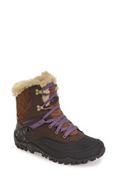 Women's Merrell 'Fluorecein Shell 8' Waterproof Cold Weather Boot 1 1 2' Heel