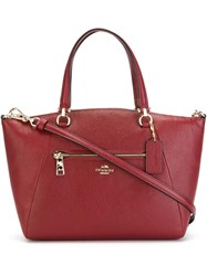 Coach 'Prairie' Tote Red