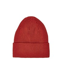 River Island Mens Red Knitted Beanie