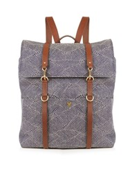 Mismo M S Canvas Backpack Blue Multi