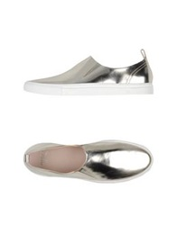 Giambattista Valli Low Tops And Trainers Platinum