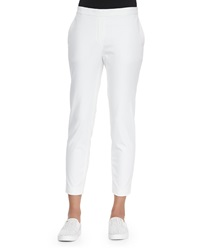 Theory Thaniel Cropped Slim Twill Pants