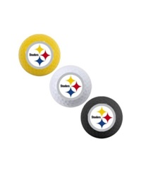 Team Golf Pittsburgh Steelers 3 Pack Golf Ball Set Team Color