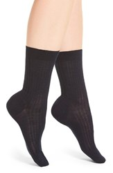 Pantherella Women's 'Rose' Trouser Socks Navy