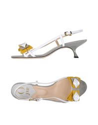 O Jour Footwear Sandals Women White
