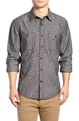 Dockersr Men's Dockers Fitted Chambray Shirt Clancy Storm