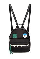 Forever 21 Monster Face Mini Backpack