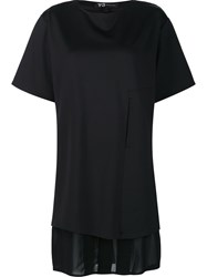 Y 3 'Lux Ft Pure' T Shirt Black