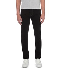 True Religion Rocco Relaxed Fit Skinny Jeans Inglorious Black