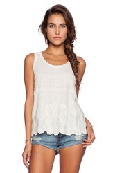 Harlyn Tank Blouse Ivory