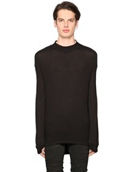 Diesel Black Gold Rib Viscose Jersey T Shirt