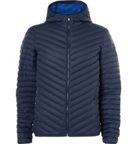 Kjus Blackcomb Quilted Shell Down Jacket Navy